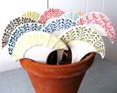 Garden Markers - Set of 4 in Fan Shape