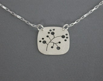 SMaddock Tree Series Silver Pendant