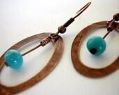 Copper Blues Earrings