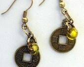 Shanghai Gold Earrings