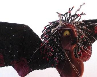 Soft Sculpture Fairy Queen Art Doll - Titania - Midsummer's Night Dream