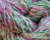 Watermelon all wool Handspun yarn