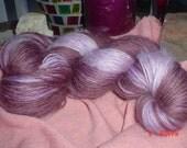 Shades of Grape Handspun Yarn