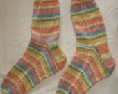women's handknit wool socks