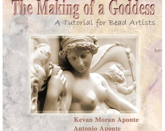 The Making of a Goddess glass bead written and video tutorial CD