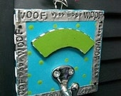 Customized Leash Hook...for your puppy dog - TURQUOISE