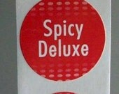 40 Spicy Deluxe stickers for an unsuspecting tookus