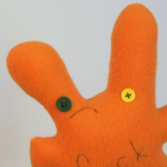 disapproving orange f.ck bunny, mature