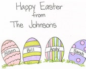 Happy Easter Personalized Card