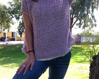 Pattern For A Crocheted Oversize Blouse 66