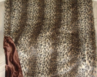 Faux fur throw blanket, leopard throw blanket, cheetah throw blanket, cheetah faux fur blanket, leopard faux fur throw blanket, fur blanket