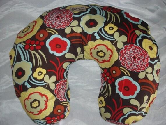 Mocca Floral nursing pillow cover