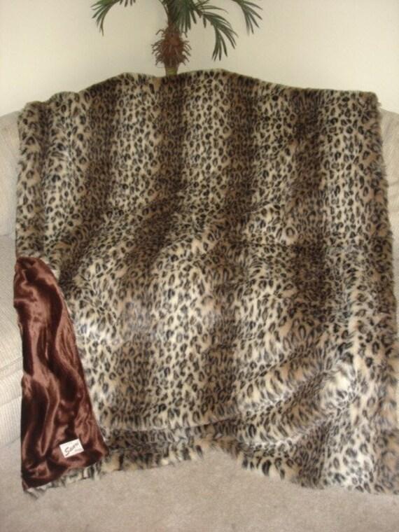 Faux fur throw blanket, leopard throw blanket, cheetah throw blanket, cheetah faux fur blanket, leopard faux fur throw blanket, fur blanket