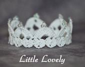 PATTERN - Crochet Crown - Little Lovely