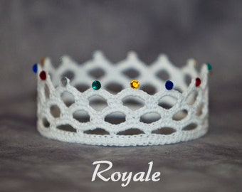 PATTERN - Crochet Crown - Royale