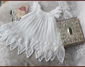 Celestial Crochet Christening Gown Pattern Crochet Baptism Gown Pattern Blessing Dress Pattern Crochet Lace Dress Pattern Newborn to 12 mos