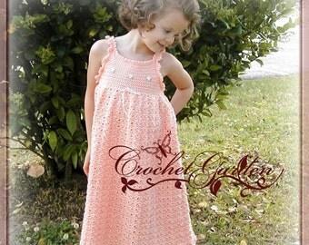 Little Maiden Sundress TODDLER SIZES (2T - 5) Crochet Pattern