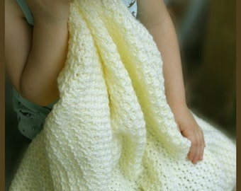 Corn Crib Afghan - Crochet Pattern