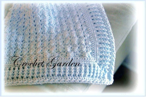 Crochet Afghan Patterns For Guys : Afghan Of The Sandman Crochet Pattern Perfect for baby boys