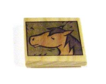 Doodle Magnet - Horse Head