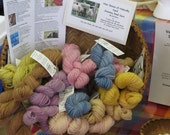 Surprise Me Bouquet of Naturally Dyed Mini Skeins