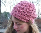 Sheep Herder's  Hat Pattern Kit with Charlotte Bulky Mohair Romney Wool Yarn-Small