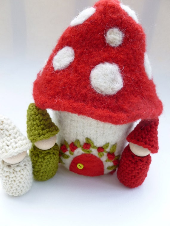 Mushroom Gnome Home