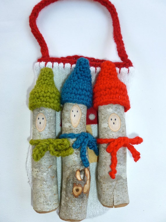 Tree Branch Gnome Set SALE