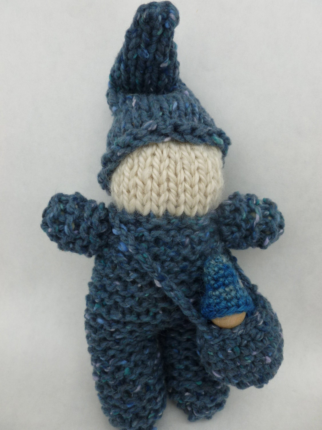 Baby Gnome: Knit Gnome Doll With Baby Gnome