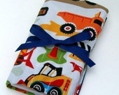 Crayon Roll - Crayola Crayons and Paper Pad - Dig It