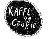 Kaffe og Cookie - A comic zine about Norway