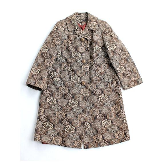 vintage 1960's AUTUMN TAPESTRY coat jacket