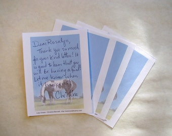 Printable Pinto Horse Notes - Digital Download, Instant Download Stationery, Horse Lovers PDF, stationery paper, horse stationery