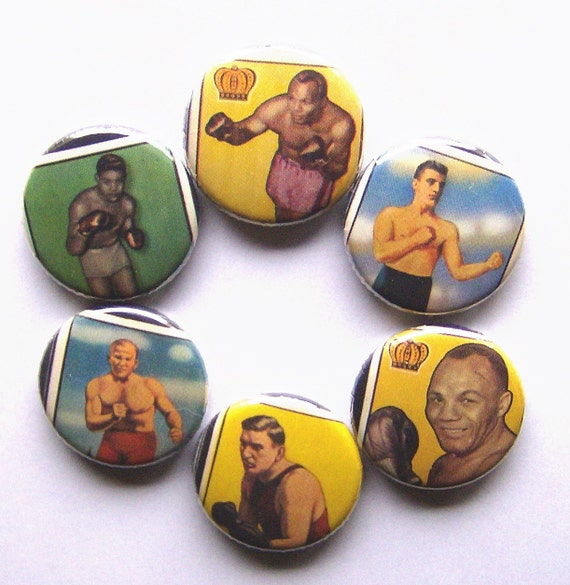 1 Inch Magnets - Six Boxers