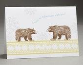 Let's Hibernate- Greeting Card