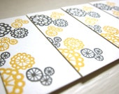 Pod Bloom Letterpress Tag - 6 Pack