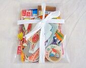 Vintage Paper Ephemera Pack of over 50 Pieces for Mixed Media Artists and Collectors