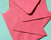 MOVING SALE 50% off:  A2 envelopes, strawberry / pink - 25 - Paper Source