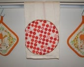 Vintage-Inspired Dish Towels