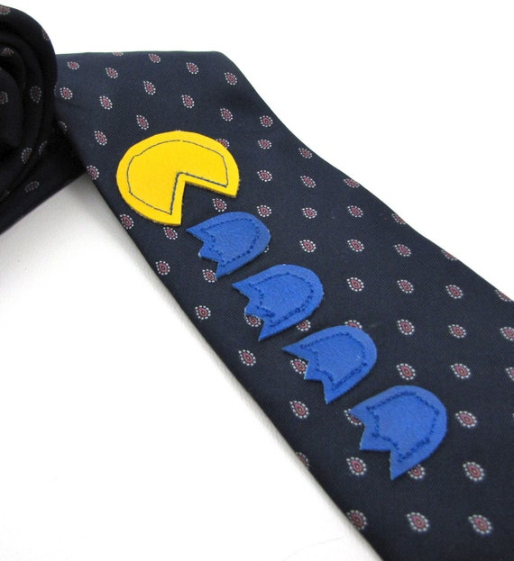 Pacman Applique Necktie