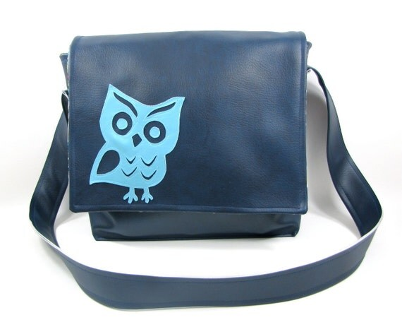 Messenger Bag Vinyl Owl