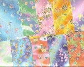 YART SALE - Origami Papers - Butterflies and more - great for Iris folding Collage Scrapbooking Cardmaking Decoupage and more