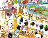 YART SALE - KAWAII Japanese Anime Paper for COLLAGE MIXED MEDIA ASSEMBLAGE DECOUPAGE CRAFT from San-X Q-Lia Crux Kamio Japan