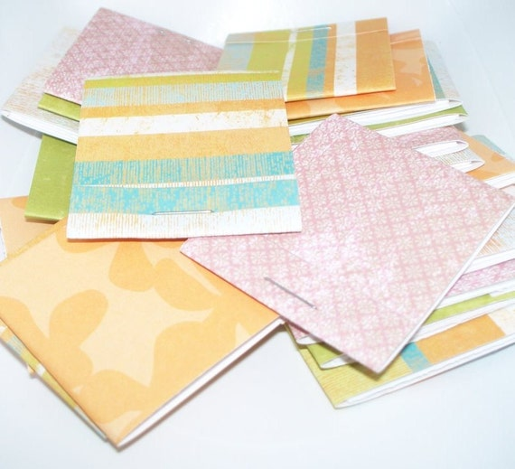 Rainbow Sorbet- 20 Blank Matchbook Notepads