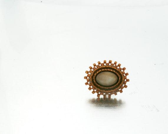 Native American Beaded Tie Tack Pin