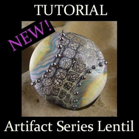 Artifact Series Lampwork Bead Tutorial PDF File