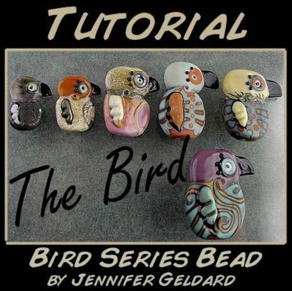 Bird Series Lampwork Bead Tutorial