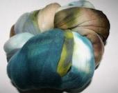 Hand dyed Merino Spinning Wool 3.75 Beryl 4