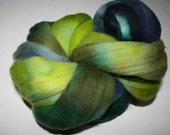 Hand dyed Merino Spinning Wool 4.125 oz Marsh 2