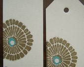 Flower Gift Tags (set of 2)